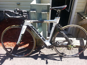 Argon 18 E112 Time Trial full carbon bike parts or whole