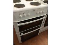 Beko electric cooker 600mm wide £139