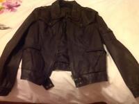 Next leather jacket size 16