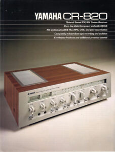 Yamaha CR820 Receiver.