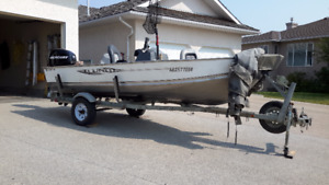 Fully loaded Fisherman's Dream 16 ft Lund Fishing Boat