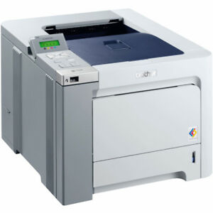 Brother colour laser printer (network, duplex, pagecount < 1000)