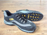 Men's Caterpillar Safety Shoes Black UK Size 7