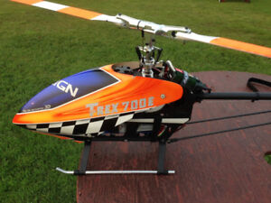 Ttrex 700E 3g helicopter heli