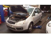 Ford Focus C-MAX 2004 BREAKING FOR SPARES PARTS SILVER DOOR WINDOW ALTERNATOR