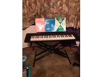 Yamaha Piaggiero NP11 keyboard
