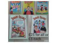 Various beano and dandy books