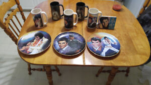 Elvis Presley Collectibles Plates & Mugs For Sale