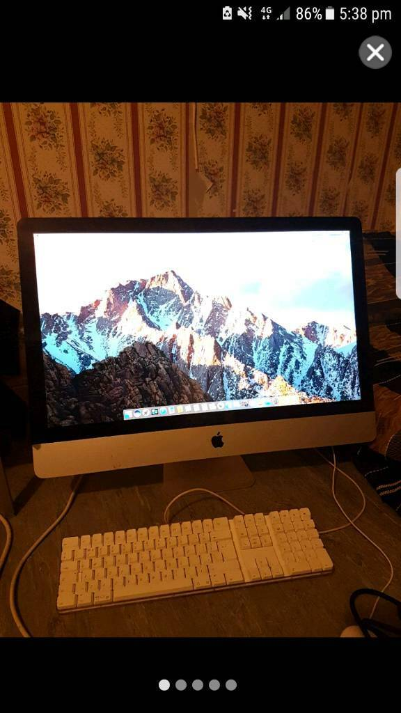 iMac core i7 (27 inch) with microsoft office 2016, EXCELLENT CONDITIONin Hounslow, LondonGumtree - iMac core i7 (27 inch screen). macOS Sierra. intel 2.8 GHz with 8 GB RAM and 2 TB Hard Drive. MICROSOFT OFFICE 2016 is installed and activated. iMac is in an excellent condition and original keyboard and mouse come with it. Graphics ATI Radeon HD...