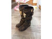 Thor motorcross boots