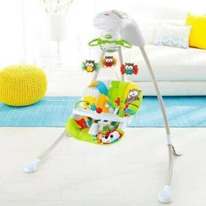 Selling Fisher Price Woodland Friends Cradle 'n Swing