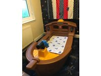 Little tykes pirate ship bed