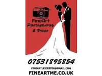 Quality Wedding Photography and Video service from £100