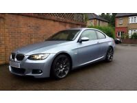 2009 BMW 330D M SPORT AUTO COUPE RARE **FULLY LOADED** PX