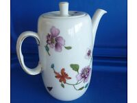 Royal Worcester Astley Coffee Pot, Lid & Body, both Perfect £10 Bradford on Avon