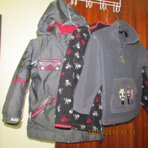 Boy's winter coat and sweater ,size XS