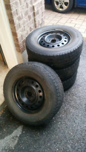Used set of Winter Tires and Rims from 2008 Ford Escape