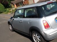 Mini one low mileage private plate included.