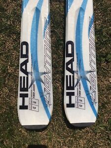 Head skis and Nordic boots size 7