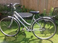 Ladies Bike Falcon Explorer - Excellent condition recently serviced with two new tyres