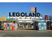 4 x Legoland ticket for Friday 4th August