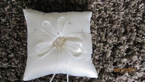 Ring Bearer Pillow with Ring Security Sign