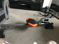 Used once rowing machine