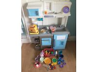 Play kitchen with lots of accessories
