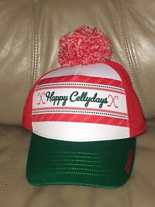 """GONGSHOW """"Happy Cellydays"""" Hat - new with Tags"""