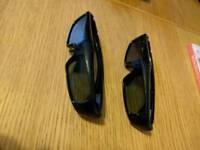 2x Panasonic 3d glasses