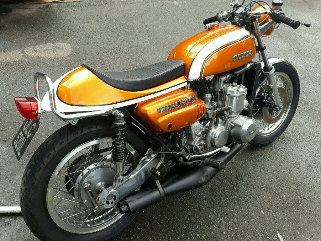 suzuki gt 750 cafe racer in warlingham surrey gumtree. Black Bedroom Furniture Sets. Home Design Ideas