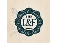 Functions & Events Manager - The Lost & Found, Albion Place Leeds