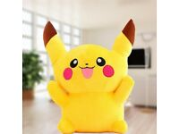 pikachu pokemon soft plush toy baby kids new