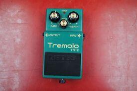 Boss Tremolo TR-2 Guitar Pedal £70