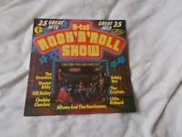 Vinyl LP Rock 'N' Roll Show Various Artists K-tel NE 975 Stereo 1977