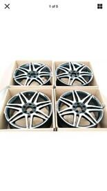 Mercedes AMG alloy wheels 18in VW/Audi
