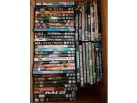 Various dvds for sale- Action, war, sci-fi, blockbuster's etc.