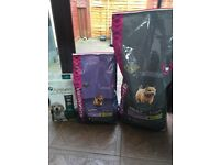 Eukanuba Small breed puppy and adult food plus Applaws puppy food