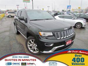 2015 Jeep Grand Cherokee SUMMIT   4X4   DIESEL   LEATHER   BACKU