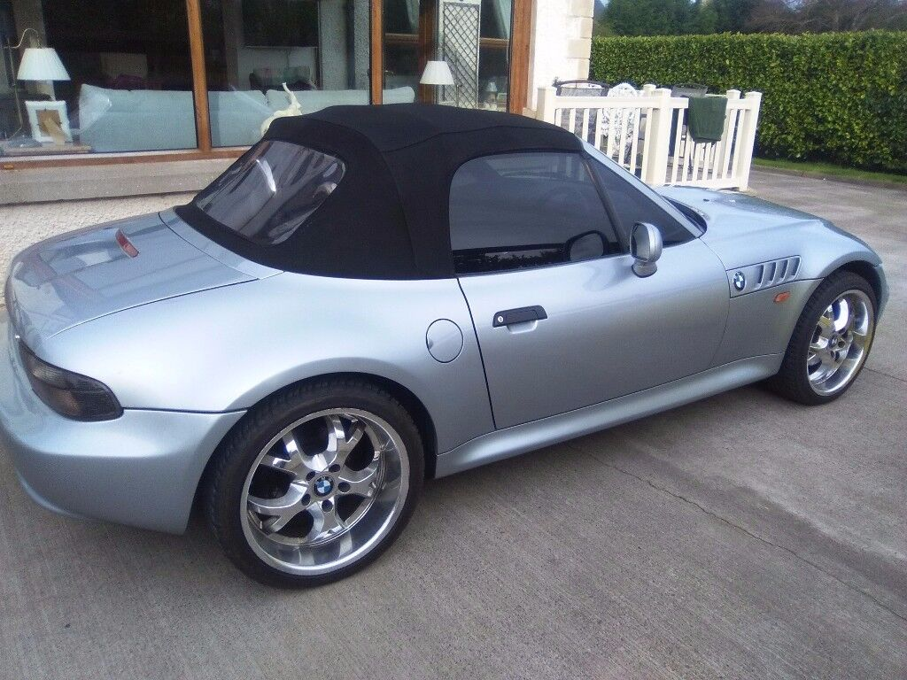 1998 BMW Z3 2.8 Roadster For Sale. FSH,Moted until May 2018, Immaculate condition throughout.