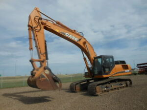 Case CX350C Excavator + 2 Buckets & Thumb