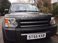 2006 LAND ROVER DISCOVERY 3 2.7 TDV6 S AUTO DIESEL 7 Seats 4X4 Estate,GREEN Color,55 Reg,84000 Miles