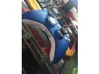 Scuf gaming controller hybrid Xbox 360 / PS3 / pc with four paddles and trigger stops