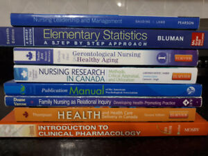 York University Nursing Books
