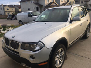 2007 BMW X3 3.0i ,ACTIVE STATUS LOCAL SUV,ALL SERVICE HISTORY