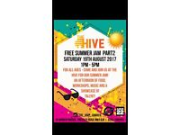 FREE SUMMER JAM BARBEQUE; @ THE HIVE!