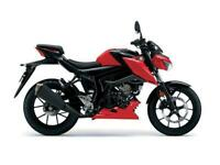 2017 SUZUKI GSX-S125 STRONGER RED / TITAN BLACK, BRAND NEW