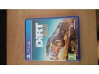 dirt rally ps4 playstation 4 game