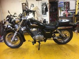Suzuki Marauder 125cc Mint Condition. 1 previous owner from new