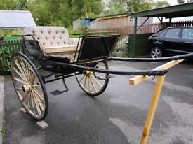 Doctor's 2 wheeled gig / cart